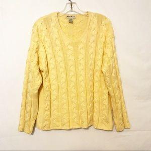 Eddie Bauer Cotton Sweater